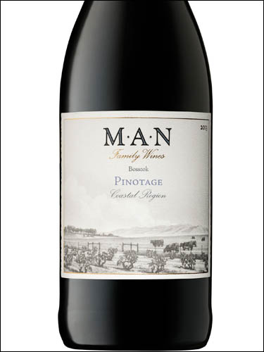 фото MAN Family Wines Bosstok Pinotage Coastal Region WO МАН Фэмили Вайнс Боссток Пинотаж Коустал Регион ЮАР вино красное