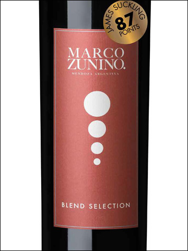 фото Marco Zunino Blend Selection Марко Зунино Бленд Селекшн Аргентина вино красное