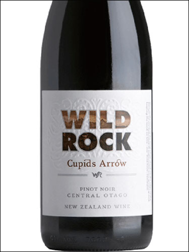 фото Wild Rock Cupids Arrow Pinot Noir Central Otago Вайлд Рок Кьюпид'с Эрроу Пино Нуар Центральное Отаго Новая Зеландия вино красное