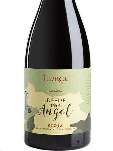 фото Ilurce Angel Rioja DOCa Илурсе Ангел Риоха Испания вино красное