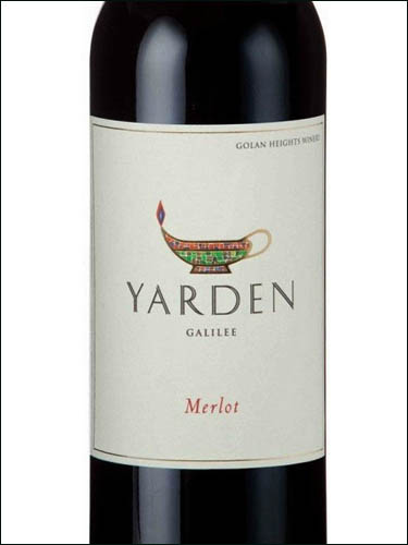 фото вино Golan Heights Winery Yarden Merlot Galilee