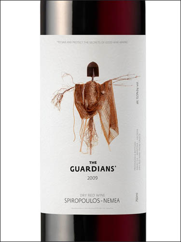 фото вино Domaine Spiropoulos Guardians of The Vineyards Nemea PDO