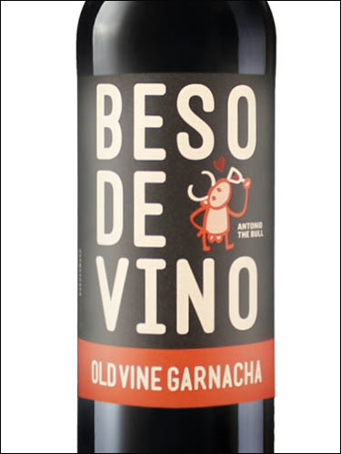 фото Beso de Vino Old Vine Garnacha Carinena DO Бесо де Вино Олд Вайн Гарнача Кариньена Испания вино красное