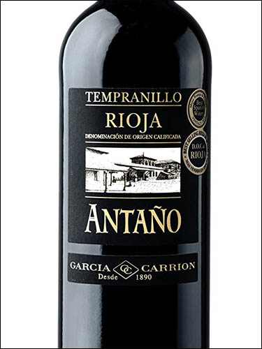 фото вино Garcia Carrion Antano Tempranillo Rioja DOC