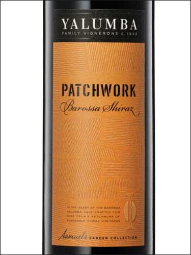 фото вино Yalumba Patchwork Shiraz