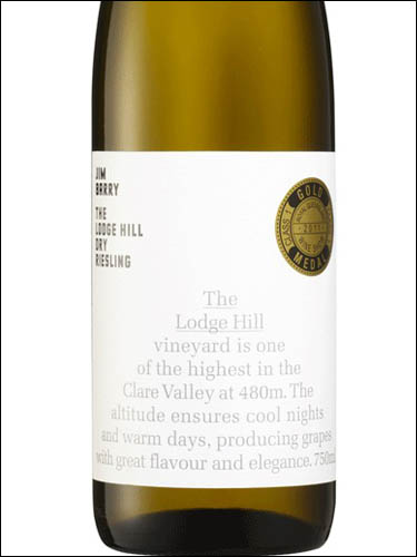 фото Jim Barry The Lodge Hill Riesling Джим Барри Лодж Хилл Рислинг Австралия вино белое