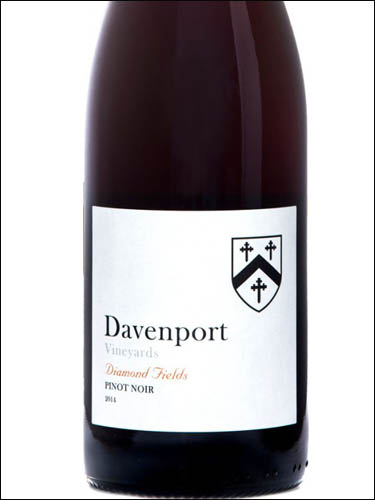 фото Davenport Vineyards Diamond Fields Pinot Noir Давенпорт Виньярдс Даймонд Филдс Пино нуар Великобритания вино красное