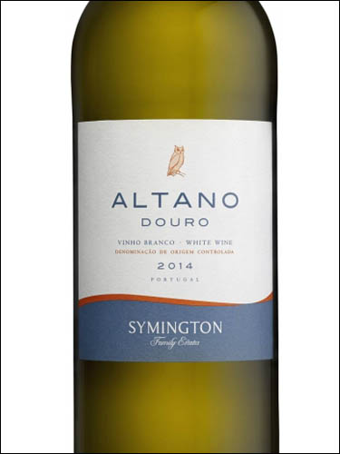 фото  Symington Family Estates Altano Branco Douro DOC Симингтон Фэмили Эстейтс Альтано Бранко Дору ДОК Португалия вино белое