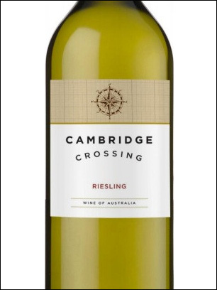 фото Cambridge Crossing Riesling Кембридж Кроссинг Рислинг Австралия вино белое