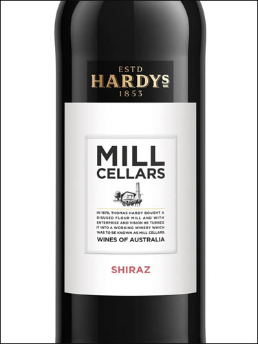 фото вино Hardys Mill Cellars Shiraz