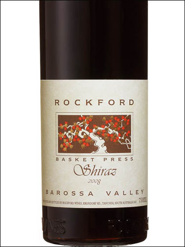 фото вино Rockford Basket Press Shiraz Barossa Valley