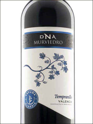 фото вино DNA Murviedro Classic Tempranillo Valencia DO