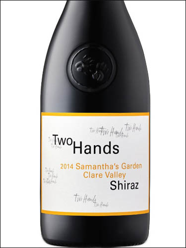 фото Two Hands Samantha's Garden Clare Valley Shiraz Ту Хэндз Самантас Гарден Клер Вэлли Шираз Австралия вино красное