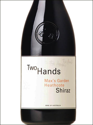 фото вино Two Hands Max's Garden Heathcote Shiraz