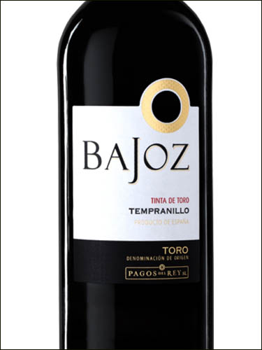 фото вино Bajoz Tempranillo Toro DO