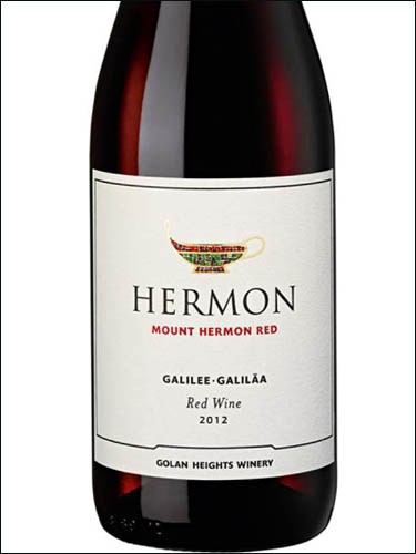 фото вино Golan Heights Winery Hermon Mount Hermon Red Galilee