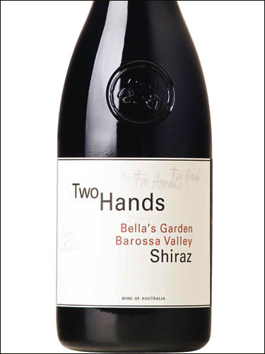 фото Two Hands Bella's Garden Barossa Valley Shiraz Ту Хэндз Бэллас Гарден Баросса Вэлли Шираз Австралия вино красное