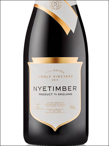 фото Nyetimber Tillington Single Vineyard Brut Ньетимбер Тиллингтон Сингл Виньярд Брют Великобритания вино белое