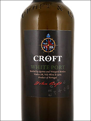 фото вино Croft White Port
